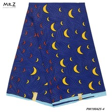 Mr.Z Ghana Ankara Wax Fabric High Quality African Polyester Prints Printed Real 6 Yards Nigerian Aso Ebi