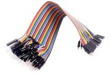 40pcs dupont cable jumper wire dupont line Male to Male/Male to female/female to female dupont line 20cm 1P 40P free shipping(Hong Kong)