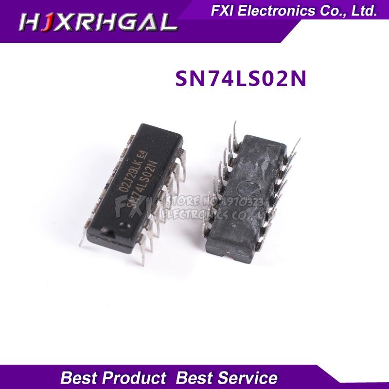100PCS HD74LS02P HD74LS02 DIP14 DIP SN74LS02N 74LS