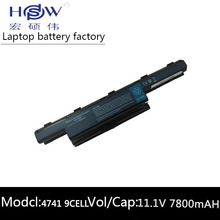 7800MAH Battery For Acer Aspire 4741 5741 5741g 5742 5742g 5750 5552 5552g 7551 7741G AS10D75 AS10D41 AS10D51 AS10D61 AS10D71 for acer 5551 5252 5552 5742g 5742 palmrest c shell