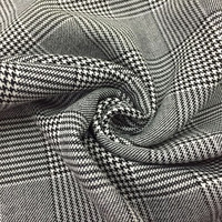 African Fabric Viscose Four sided Elastic yarn Thousand bird Checked Autumn And Winter Suit, Overcoat Trousers Suit Fabrics