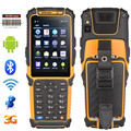 Ts-901 Android os handheld terminal pos móvel barcode scanner PDA robusto rfid reader wifi 3 g bluetooth coletor de dados com SDK