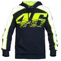 2017 New MOTO GP Valentino Rossi Racing Jackets The Doctor VR46 Hoodies Cotton Motorcycle VR 46 Black Hooded Sweatshirts Fleece