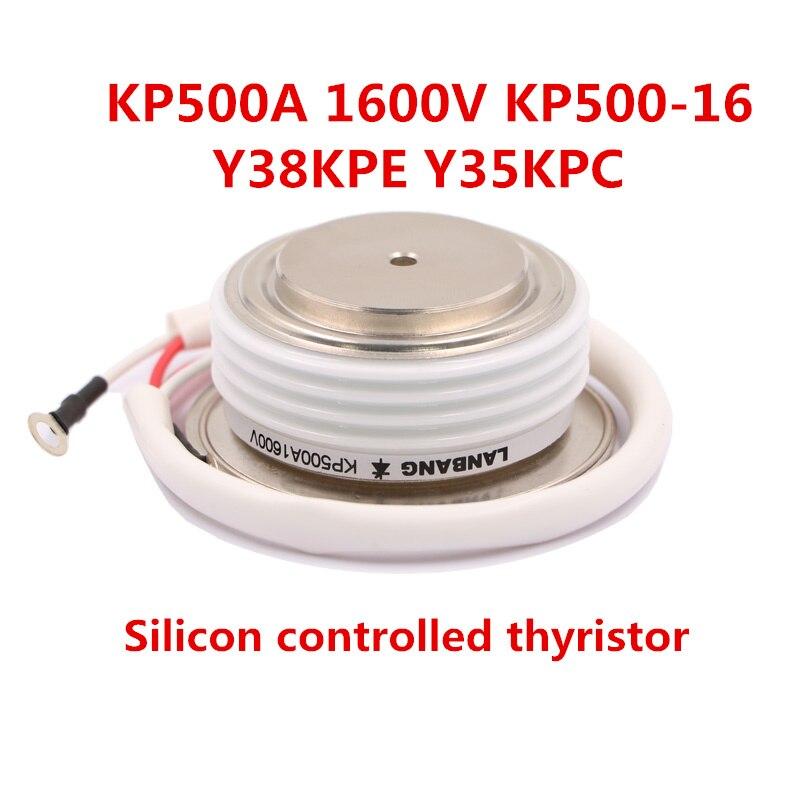 Быстрая Бесплатная доставка Триод Тиристоры для общего назначения kp500a 1600 В kp500-16 y38kpe y35kpc кремния контролируется тиристорный