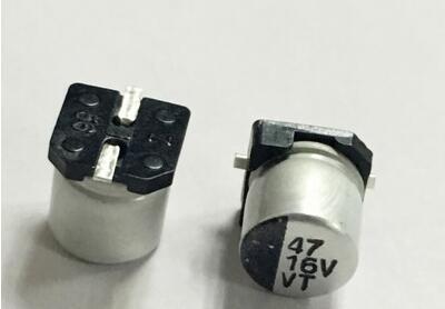 100PCS Aluminum Electrolytic Capacitor Smd  330UF/25V  47UF/16V  220UF/16V  330UF/25V=blue  47UF/16V=green  47UF/16V=yellow