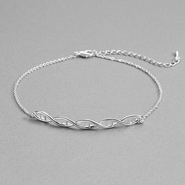 Double Helix DNA Molecule Bracelet 4