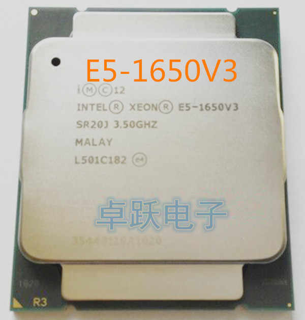 Original E5-1650v3 E5-1650 v3 E5 1650v3 CPU Processor Six Core 3.5GHz 22 nm 140 W scrattered pieces free shipping