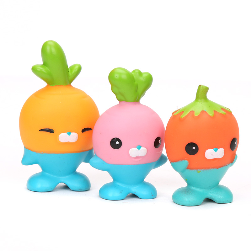 Image 3 - New 5 Pack 4.5 6cm Octonauts Toys The Vegimals PVC Action Figure Octonauts Accessories Party Supplies Seahorse Starfish Sailfish-in Action & Toy Figures from Toys & Hobbies