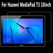 Para Huawei MediaPad T3 10.0 Vidrio Templado Ultra-thin Clear Resistente A Los Arañazos Protector de Pantalla de Cine Para Huawei T3 10.0