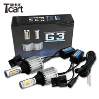 Tcart 1Set New Auto Led Bulbs Car LED DRL Daytime Running Lights Turn Signals COB 30W Lamps T20 WY21W For Toyota Prius 2006 2010