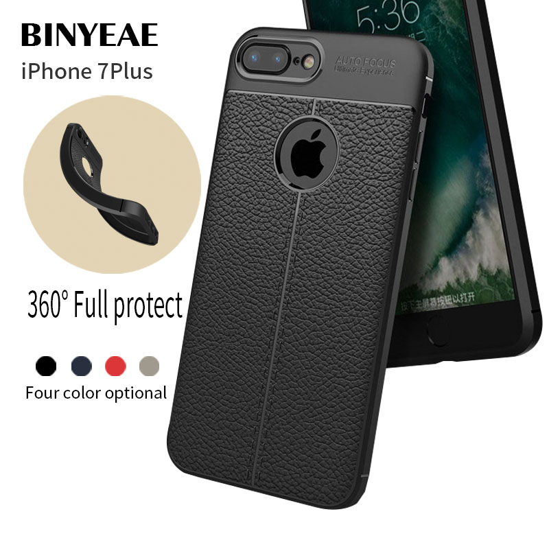 For Apple Iphone 7 / 8 Plus Case Soft Silicone Cases Protective Luxury TPU Phone Covers For iphone 7plus Cover Coque Housing