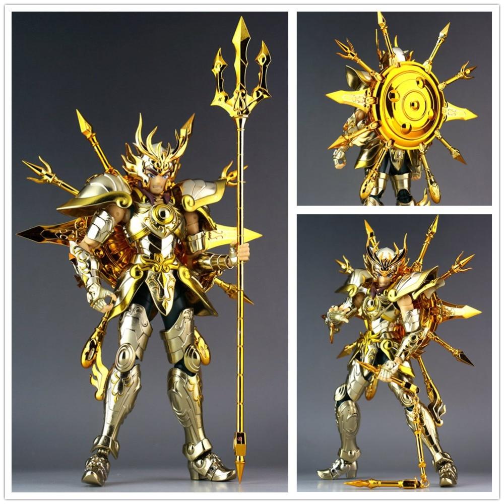CS Model Saint Seiya Cloth Myth Soul of God SOG EX Gold Libra Dohko metal Cloth SC014Action & Toy Figures   -