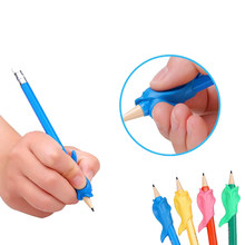 Studen massager Writing massage massage Dolphin Fish Gel Pen Hold a Pen Device Massage Z34801(China)