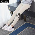 LouisDog Kids Girls Grey Leggings Teenagers Cotton Leggins Letter Print Skinny Pencil Pants Spring Clothes 13 14 15 16 Years