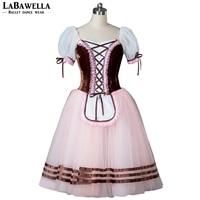 Professional Classical Brown Free Shipping BT8904D Women Peasant Variation Competiton Ballerina Ballet Tutu Dress Girls