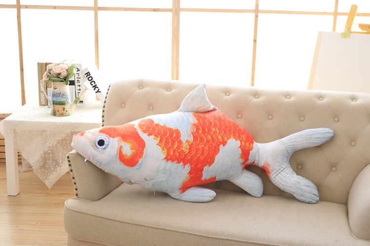 big lovely plush goldfish toy stuffed goldfish pillow doll gift about 120cm 2953 fit 2953