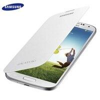 100 Original Samsung S4 I9500 I9505 S IV 7 Colors Slim Shell Battery Housing Leather Case