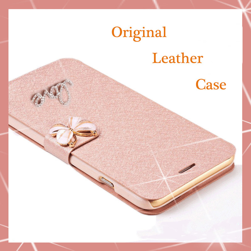 on sale cf5ed d17f5 US $3.2 11% OFF|Original Real machine PU Leather Flip Case For OPPO A33  a33m A33t A33F / OPPO Neo 7 5.0