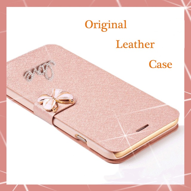 on sale 637d4 b65b7 US $3.2 11% OFF|Original Real machine PU Leather Flip Case For OPPO A33  a33m A33t A33F / OPPO Neo 7 5.0