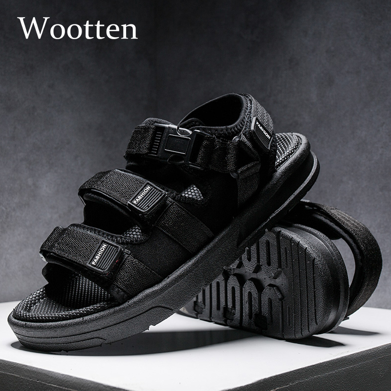 2019 Summer Beach Sandals Roman Light Comfortable Outdoor Fashion Gladiator Men Sandals #1901(China)