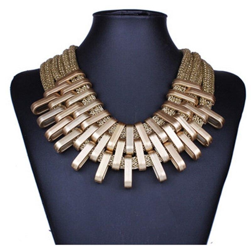 2f6e806ebf9457 2019 New Acrylic Punk Vintage Fashion Necklaces &Pendants Women Statement  Necklace Gradient Drops Choker Maxi Colar Feminino-in Choker Necklaces from  ...