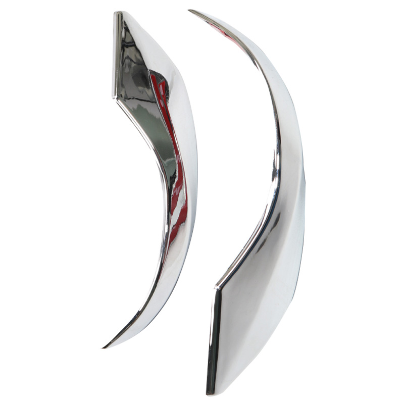 for Toyota C-Hr Chr 2016 2017 2018 2019 Abs Chrome Rearview Mirror Decoration Strip Cover Trim 2Pcs Car Styling
