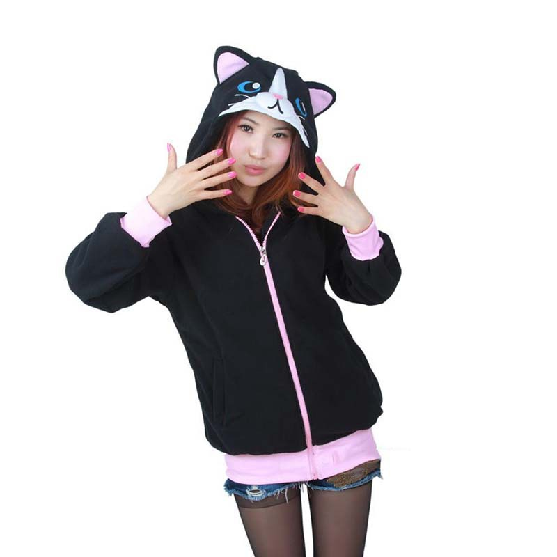 e1fbc7b57 Dropwow Women 3D Cartoon Animal Hoodies Costume Totoro Men Pokemon ...