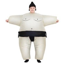 Sumo Inflatable Costume Unisex for adults and children Party Carnival Christmas Halloween Cosplay