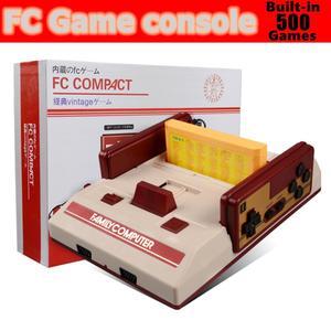 ТВ-игровая консоль, Встроенный 500 игр, Игровая приставка, 8-битная ТВ-консоль, ретро-аркадная игра, классический подарок