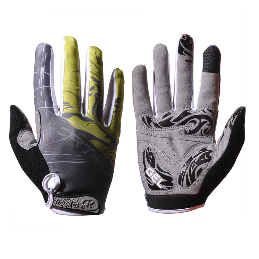 MTB Mountain Bike Bicycle Touchscreen Full Finger Cycling Gloves High Quality