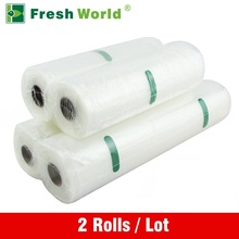 Vacuum Bags For Food Storage Vacuum Sealer Food Saver Bag 12×500 15×500 20×500 25×500 28×500 Fresh World Vacuum Packaging Rolls