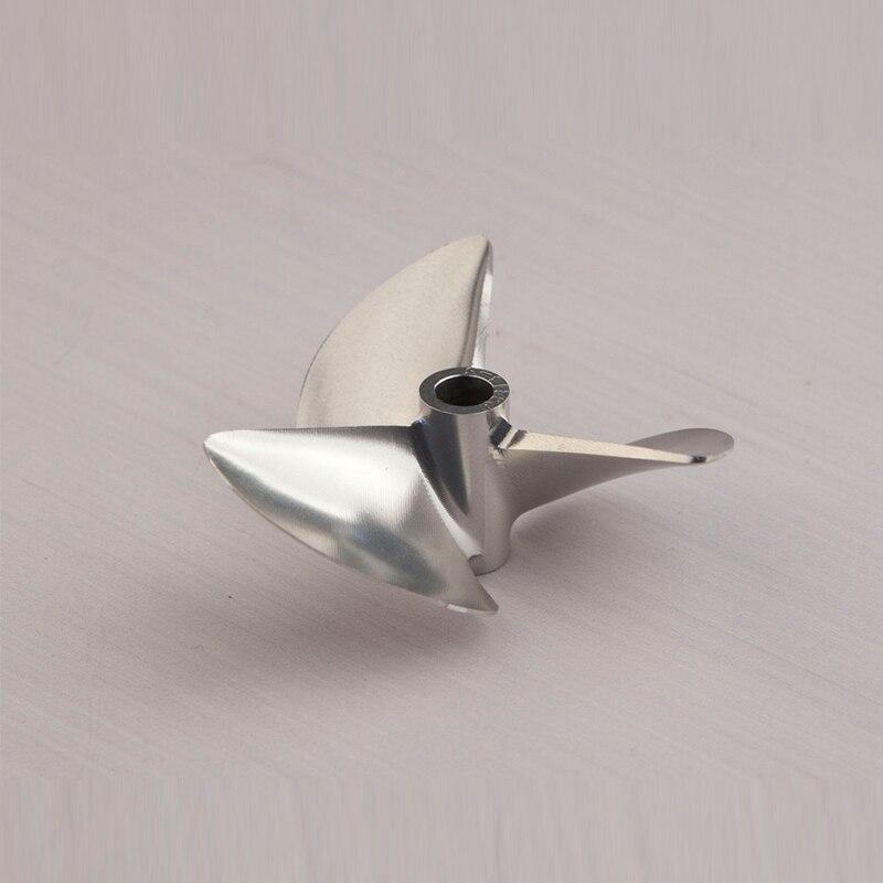 FATJAY RC bateau hélice 3-lame 6.35mm arbre taille 61/62/63/64/66/68/70mm diamètre extérieur pas 1.4