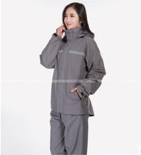 High end Raincoats Women Men Cycling Waterproof Rain Coat Pants Suits Cycling clothes set impermeable camping