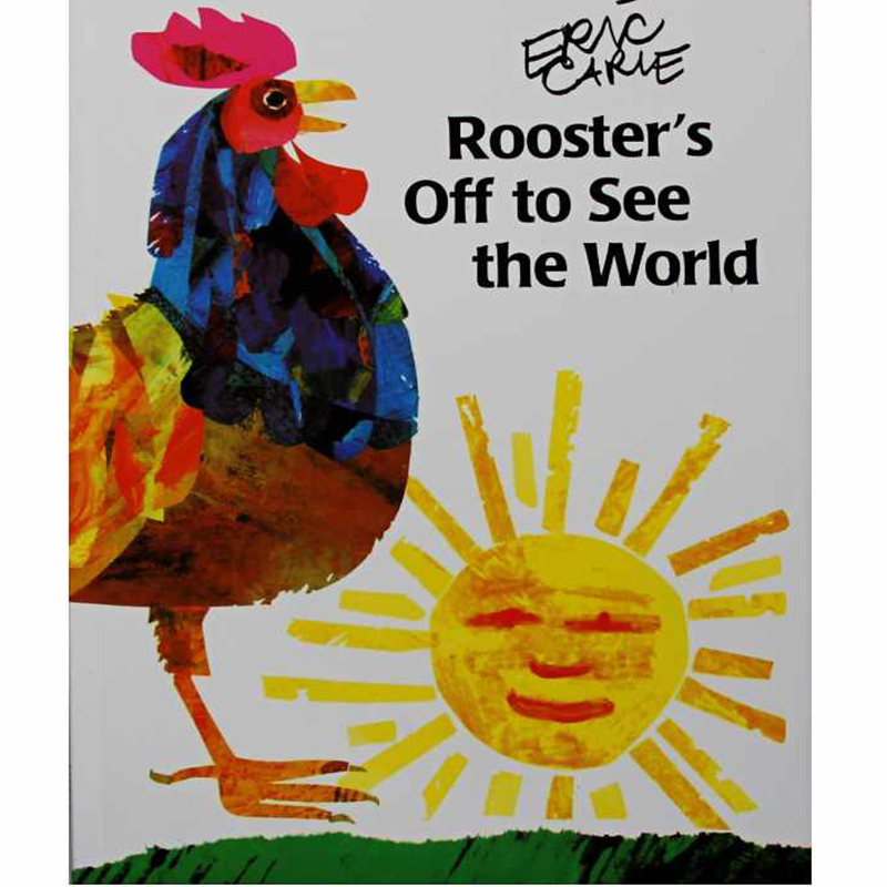 Rooster's Off To See The World By Eric Carle Educational English Picture Book Learning Card Story Book Baby Kids Children Gifts