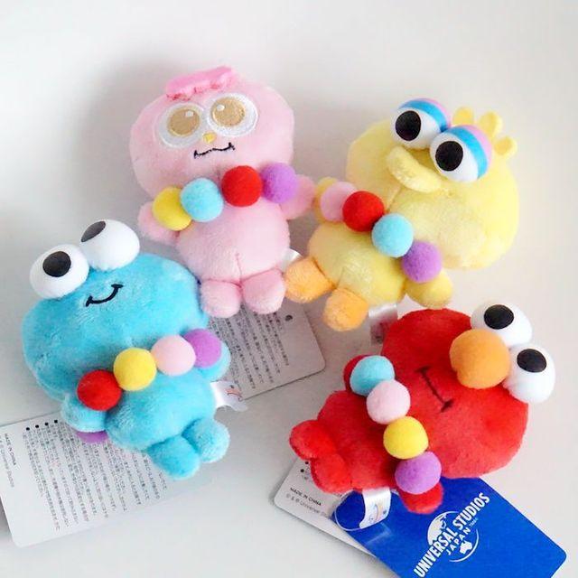 938f0689e5c534 4pcs/lot Sesame Street ELMO BIG BIRD COOKIE MONSTER OSCAR THE GROUCH ERNIE  Plush Toys Cartoon Stuffed Dolls Hand Puppet Gift-in Stuffed & Plush  Animals from ...