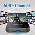 T95Rpro Android 6.0 Smart TV Box 4 K Octa Core HD 2.4 Ghz WiFi Bluetooth 4.0 2/8 GB Set Top Box con El Envío IPTV Árabe Francés Italia