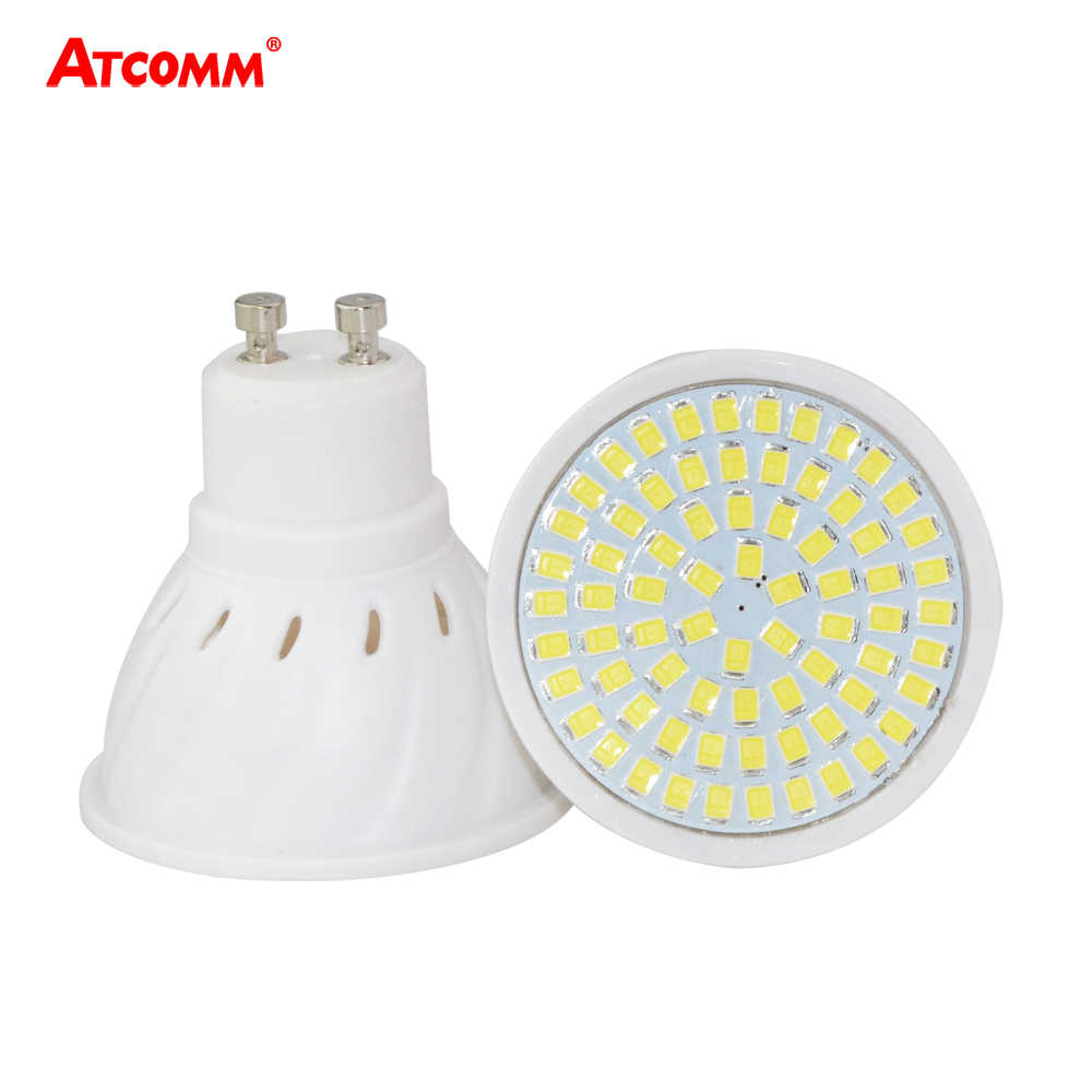 GU10 LED Light Bulbs 4W 6W 8W LED Light Emitting Diode Spotlight SMD 2835 36 54 72 LEDs 110V 220V Ampoule LED GU10 bombilla