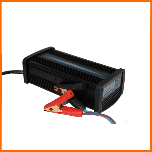 12V 20A/25A/30A Current Switchable Car <font><b>Battery</b></font> Charger GEL/AGM/ Lead Acid <font><b>Battery</b></font> Charger 7-stage Charging