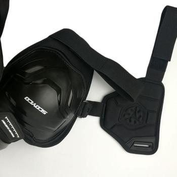 SCOYCO Motorcycles Motocross Chest Back Protector Armadura Vest Racing Protective Body Guard MX Armor Black A-07 5