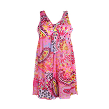 Summer Print Floral One-piece Swimwear for Women Hamil Plus Size Beach Wear for Maternity Clothes