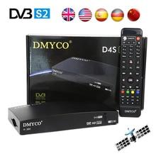 Satellite Receiver DVB-S2 D4S PRO Receptor HD FTA Satellite TV Receiver D4Spro TV Tuner Support 3G WIFI PowerVu Biss Key YouTube