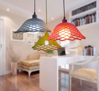 2016 New Modern DIY Silicone Pendent Lamp For Dining Room Bedroom Decor Lighting 8 Colors 75 230v DY 1497 In Pendant Lights From