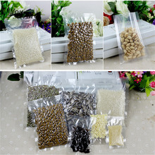 50Pcs Composite Nylon PE Vacuum Seal Bag Snack Food Grade Kitchen Storage Clear Package