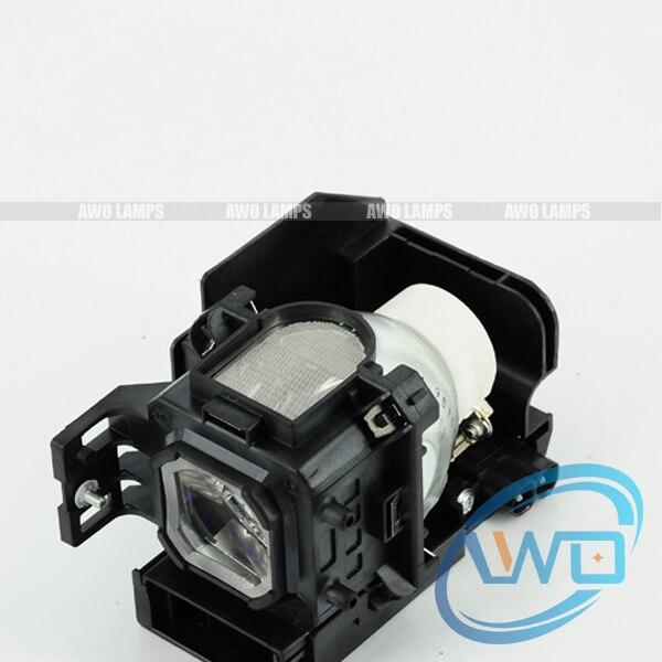 цена на Awo-Lamps NP05LP / 60002094 Original bare Lamp with housing NP901/NP905/VT700/VT800 Projector