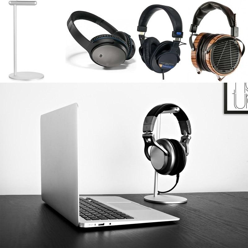 bilder für Neue Aluminium Display Rack Headset Kopfhörer Kopfhörer Ständer für Gamer Shop Ausstellung Center Home Büro GDeals