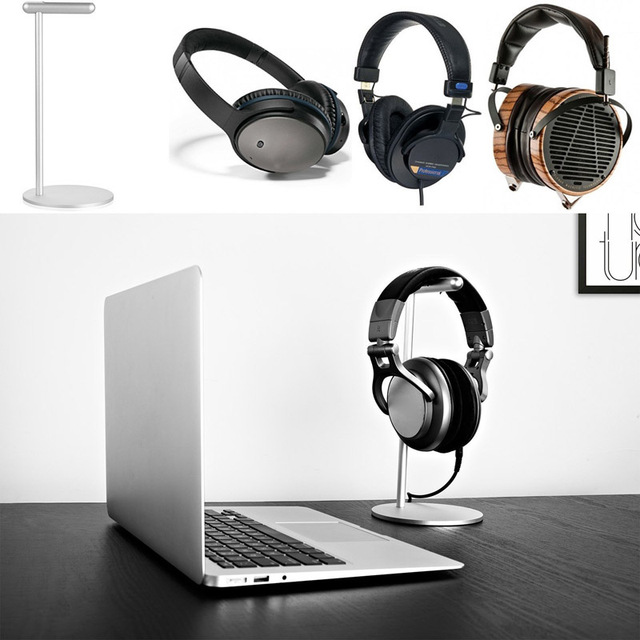 New Aluminum Display Rack Headset Earphone Headphone Stand for Gamers Store Exhibition Center Home Office GDeals