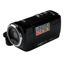 "Popular HDV-107 Digital Video Camcorder Camera HD 720P 16MP DVR 2.7"" TFT LCD Screen 16x ZOOM Black"