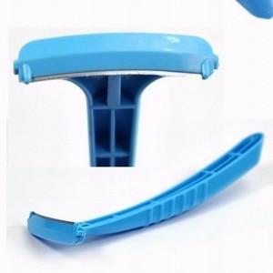 Image 3 - Martwa skóra narzędzie do usuwania moda Metal + plastik profesjonalna pielęgnacja stóp Pedicure Hine twarde stopy nóż do skóry przyrząd do usuwania naskórka golarka
