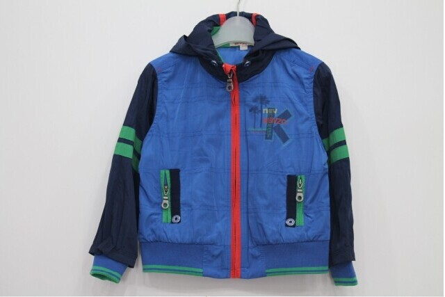 2014 New arrival French style boys fashion cotton hooded outerwear Designer top quality boys brand Autumn