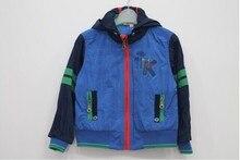 Французский стиль мальчики хлопок закрытый воротник верхняя одежда, Дизайнер верхний — мальчики марка осень и зима куртки